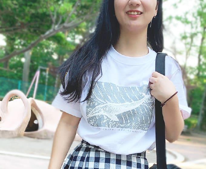アキシマクジラTシャツ